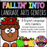 Fall Language Arts Centers