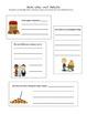 Fall Language Arts Packet