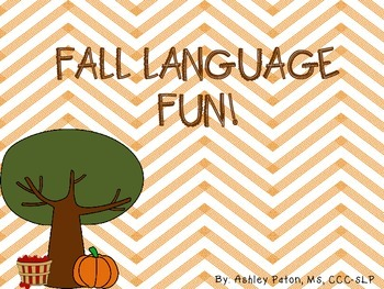 Fall Language Fun!