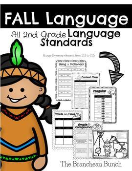 Fall Language Review 2nd Grade