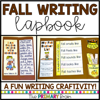 Fall Lapbook - A Writing Craftivity About Autumn