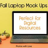 Fall Laptop Mock Ups (Stock Photos)