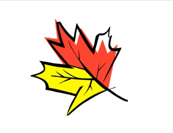 Fall Leaf Bingo for Preschoolers