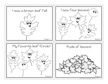 Fall Leaf Booklet