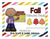 Fall Leaf Calendar Cards