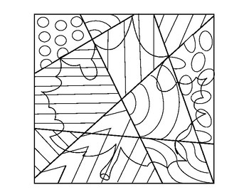 Fall Leaf Coloring Sheet