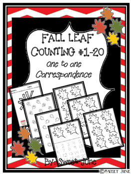 Free Fall Leaf Counting 1-20