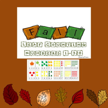 Fall Leaf Counting 1-30