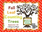 Fall Leaf Counting Trees