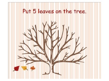 Fall Leaf Counting and Patterns