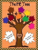 All About Me Fall Leaf Craftivity - (The Me Tree)