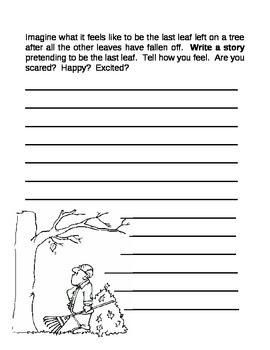 Fall Leaf Creative Writing