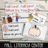 Kindergarten Emergent Reader for Fall