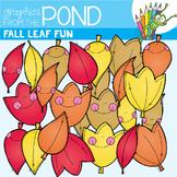 Fall Leaf Fun - Fall / Autumn Clipart Set
