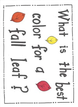 Fall Leaf Graph K-3