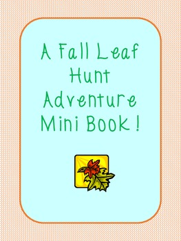 Fall Leaf Hunt Adventure Book