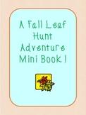 Fall Leaf Hunt Adventure Book