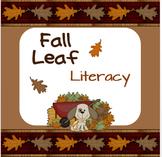 Fall Leaf Literacy