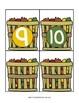 Fall Leaf Math Basket Number Cards