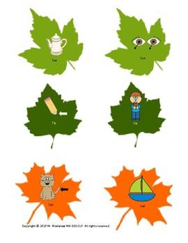 Fall Leaf Minimal Pair Matching