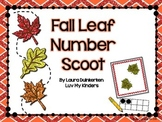 Fall Leaf Number Scoot