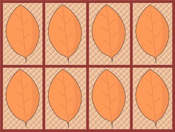 Fall Leaf Pattern Activity