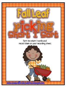 Fall Leaf Picking Short I Sort