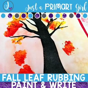 Fall Leaf Rubbing