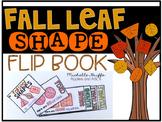 Fall Leaf Shape Flip Book