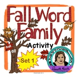 Fall Leaf Sort - Word Family Trees - Set 1