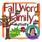Fall Leaf Sort - Word Family Trees - Set 2