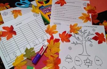 Fall Leaf Unit Study