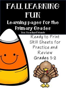 Fall Learning Fun
