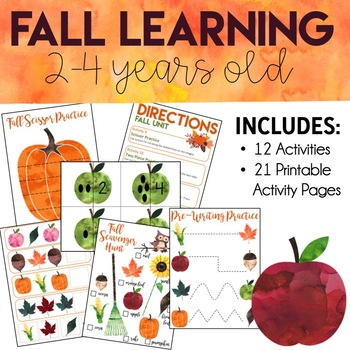 Fall Learning Pack