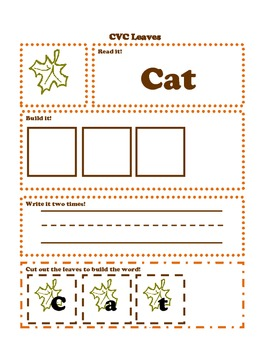 Fall Learning Pack: Pre-K and Kindergarten (Common Core Aligned)