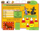 Fall Learning and Activity Pack