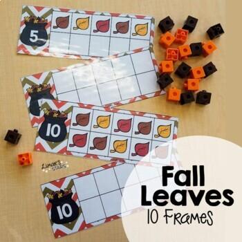 Fall Leaves 10 Frames