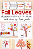 Fall Leaves Activities Mega Bundle