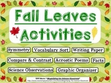 Fall Leaves Activities Set