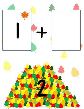 Fall Leaves Addition Mats - Decomposing Numbers