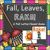 Fall Leaves Alphabet Phonics Game