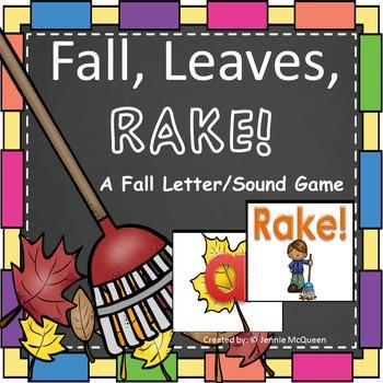 Fall Leaves Alphabet Phonics Game