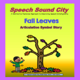 Fall Leaves!  Articulation Symbol Story by Speech Sound City