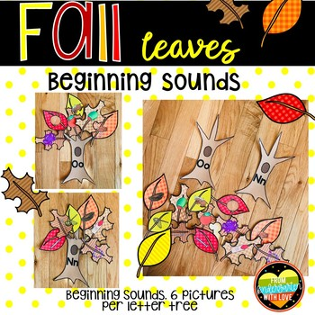 Fall Leaves Beginning Sounds