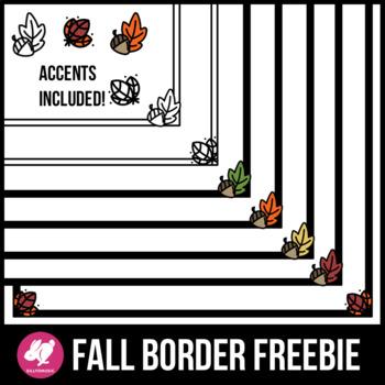 Fall Borders & Leaves Clip Art
