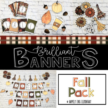 Rustic Fall Leaves Brilliant Banner Decor Pack