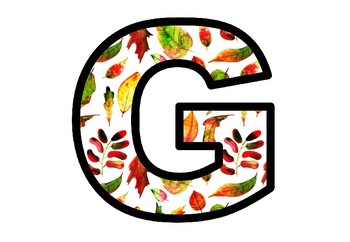 Fall Leaves, Bulletin Board Letters, Door, Classroom Decor