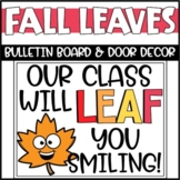 Fall Leaves Bulletin Board or Door Decoration