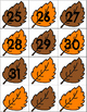 Fall Leaves Calendar Cards