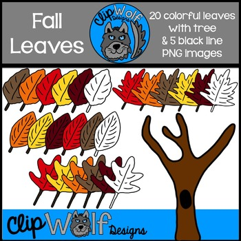 Fall Leaves Clip Art: Personal and Commercial Use